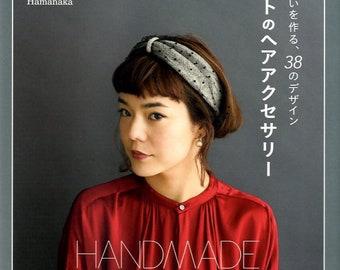 Handmade Knit and Crochet Hair Accessories -  Japanese Craft Book