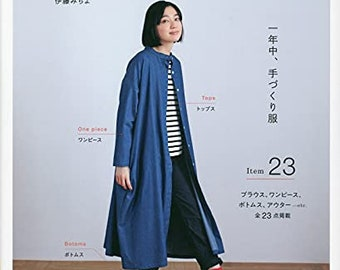 May & Me Style Clothes for Adults for 365 Days   - Japanese Craft Book (NP)