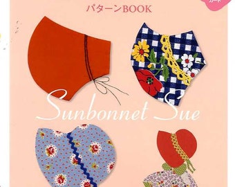 SUNBONNET SUE Pattern Book - Japanese Craft Book
