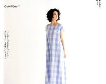 Quoi Quoi's Easy Dresses that can be made in 1 day  - Japanese Craft Book