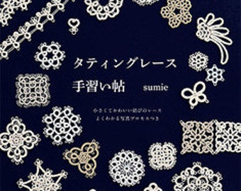 Tatting Lace Lesson Book - Japanese Craft Book (NP)
