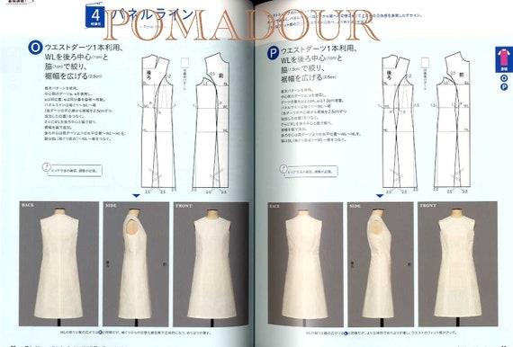 Bunka Fashion School Dress Pattern Lesson Japanese Craft Etsy
