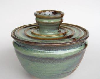 Coffee Filter Storage Jar - Ponderosa Glaze