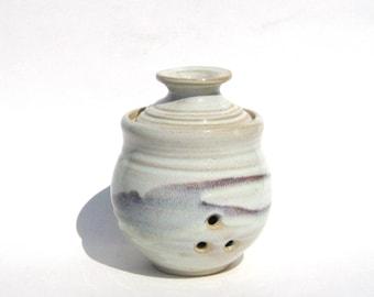 Garlic Keeper Storage Jar - Wild Berry Glaze
