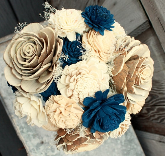 Wedding Bouquets Not Flowers: Items Similar To Sola Flower Bouquet, Brides Wedding