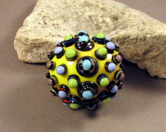 Clearance Sale - Bead Box Collection - Sale Price - Artisan Lampwork Bead Sets on Clearance Priced to sell by Monaslampwork on Etsy - (3859)