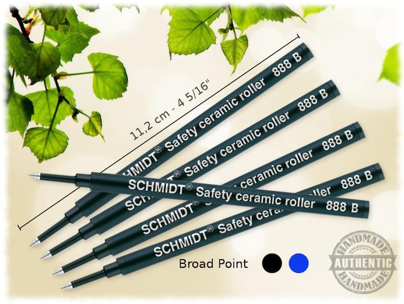 Schmidt Sicherheits Keramik Roller 888 Fein Original Tintenroller Nachfüllung