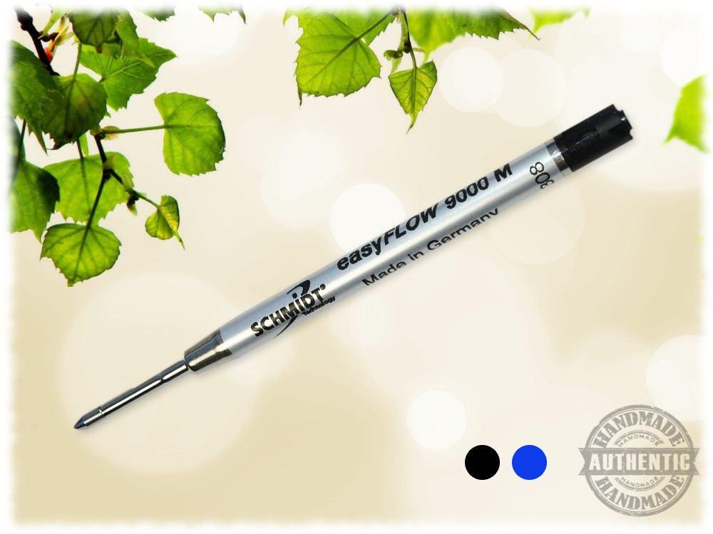 2 Pack Schmidt easyFLOW 9000 M Black Ink Parker Style Refill