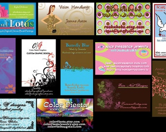 Business card or Hang tag graphic design - plus a round of UNLIMITED free edits - custom graphic design calling cards personal clothing tags