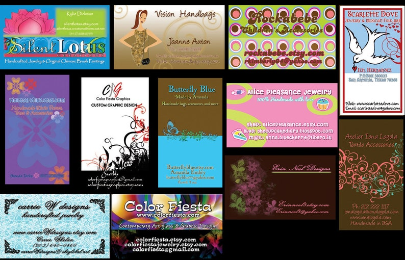 Business card or Hang tag graphic design  plus a round of image 0