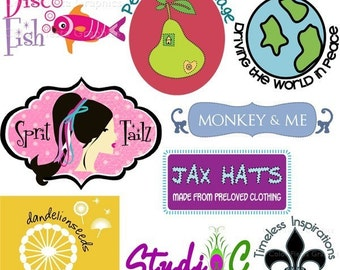 Custom Budget Logo design +  5 designs - banner, avatar, business card, tag, label, watermark, letterhead, jewelry card, sticker, postcard