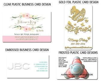 Custom business card or tag design - custom calling cards branding graphic design professional branding kit - unique ooak - 1 round of edits
