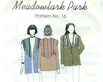 PARK BENCH PATTERN No. 16 Meadowlark Park