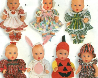 """Simplicity 0683 BABY DOLL CLOTHES 13-14"""" & 15-16'' Also Issue as Simplicity 7430"""