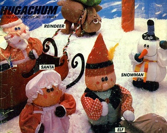 McCall's 638 HUGACHUMS CHRISTMAS ©1982  Also Issued as McCall's 8134