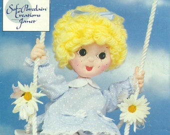 """Butterick 3607 SOFT CLOTH DOLL 20""""  & Clothes © 1985 Also Issued as Butterick 393"""