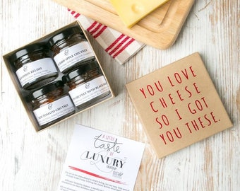 Stocking Stuffers for Women - Chutney Gift Set for Cheese Lovers!