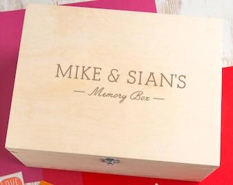 couples memory box etsy