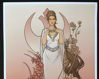 The Alderaan Rose Medium Print (Item 03-391-BB)
