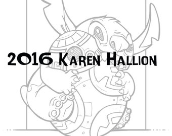chew toy coloring page digital download