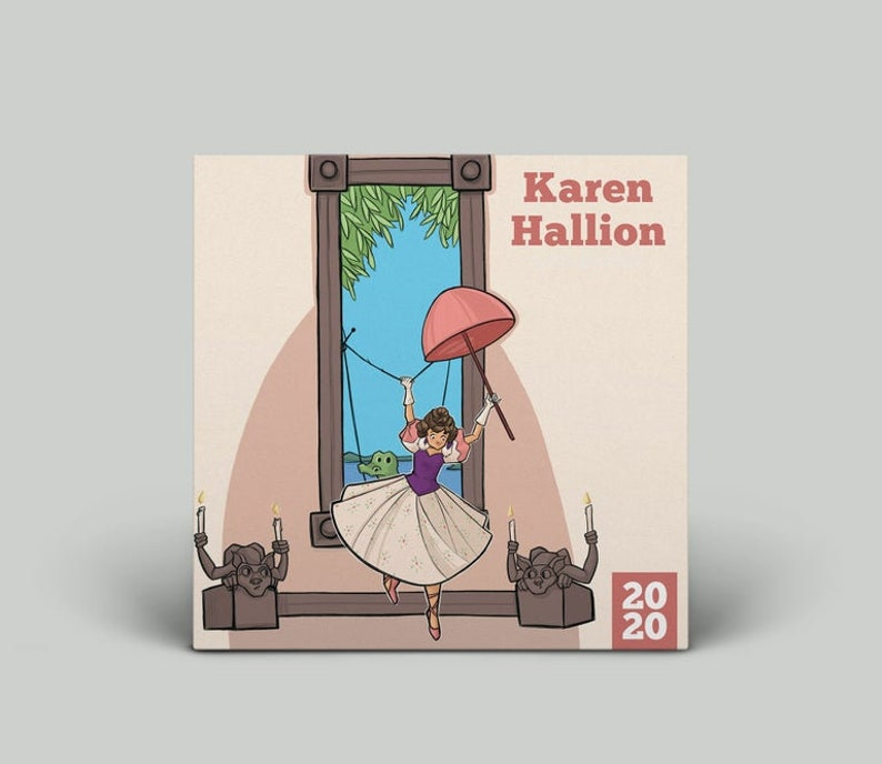 2020 Karen Hallion Art Calendar image 0