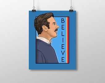 Believe - He Series Small Print (Item 03-730-AA)