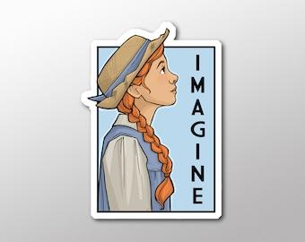 Individual Die Cut - Imagine - She Series Sticker
