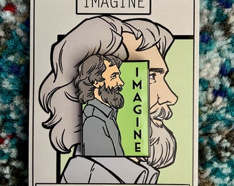 Imagine- Jim Henson- He Series Pin