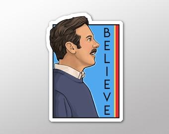 Individual Die Cut  - Believe - He series sticker (Item 01-730)