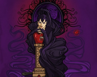 Wicked Queen Nouveau Small Print (Item 03-055-AA)