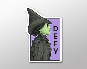 Individual Die Cut - Defy - She Series Sticker