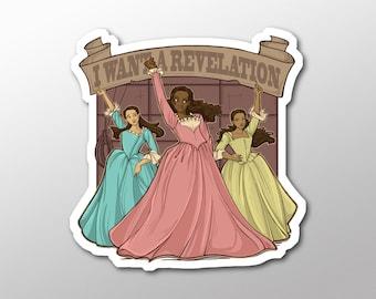 Individual Die Cut Revelation Sticker