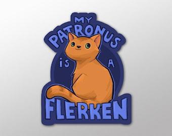 Individual Die Cut Flerken - sticker (Item 01-473)