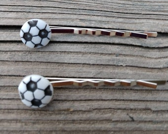 Bridal & Wedding Party Jewelry Soccer Bobby Hair Pin