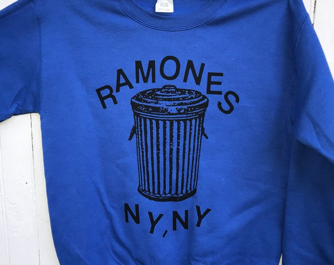 Featured listing image: Ramones Trashcan Sweater