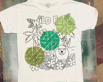Spray Painted Crass Shirt