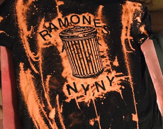 Featured listing image: Ramones Trashcan Shirt