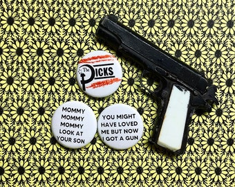Dicks Hate the Police Pin Set