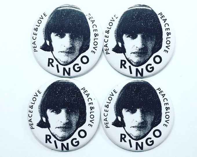 Featured listing image: Ringo Peace & Love Pin