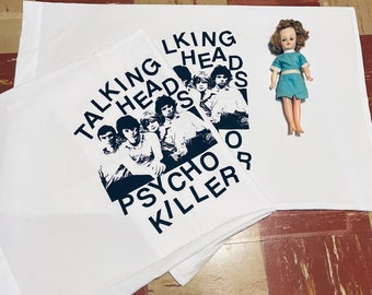 Talking Heads Pillowcase