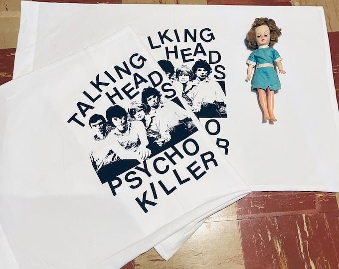 Talking Heads Pillowcase