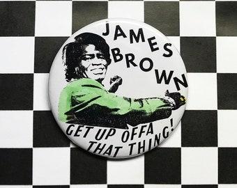 James Brown Pin