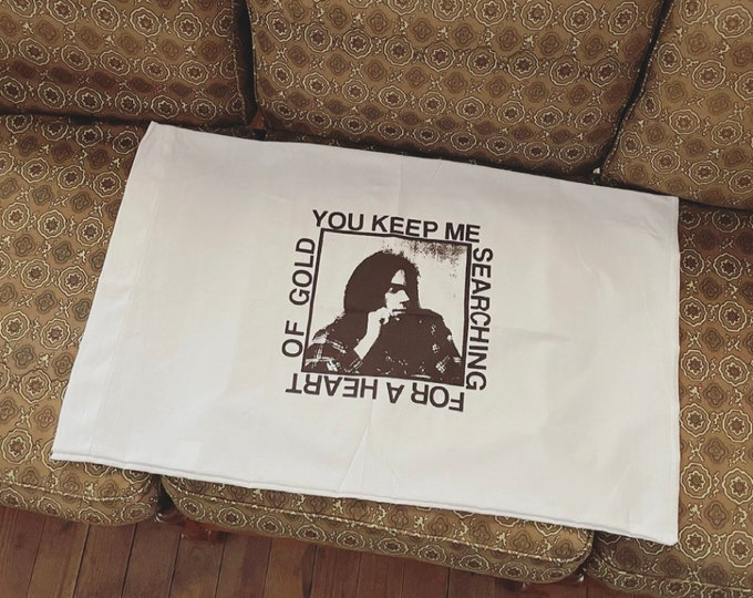 Neil Young Pillowcase