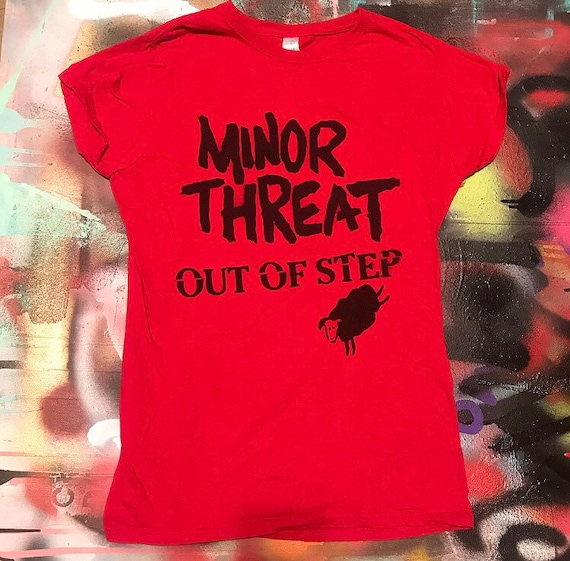 Out of Step Spray Painted Shirt