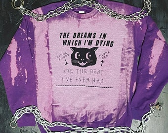 Mad World Bleached Sweatshirt