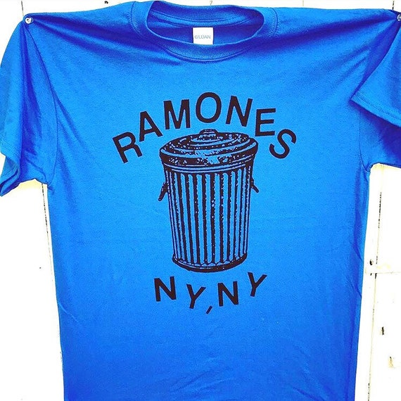 Ramones Shirt Electric Blue