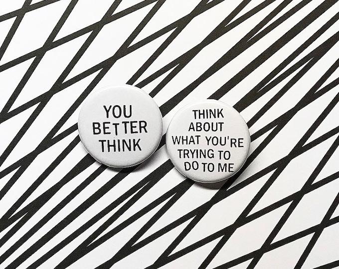 Aretha Franklin 'Think' Pin Set
