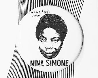 Nina Simone Pin