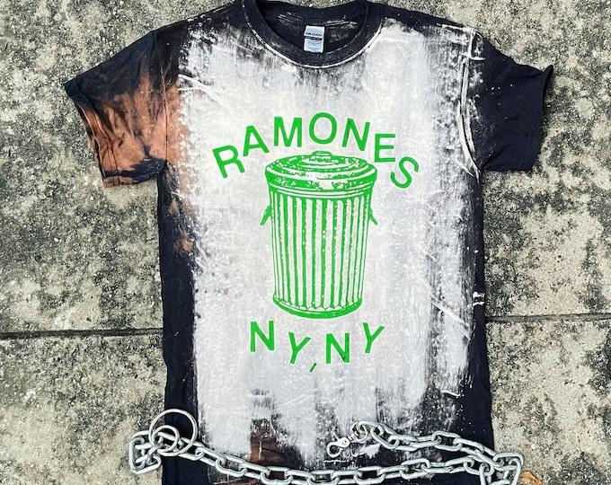 Ramones Bleached Shirt
