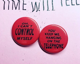 Hanging On the Telephone Pin Set